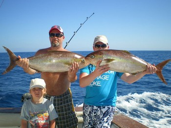 25/02 Amberjacks Cavalier & Blue Marlin Sport Fishing Gran Canaria