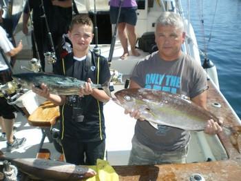 Father & Son Cavalier & Blue Marlin Sport Fishing Gran Canaria