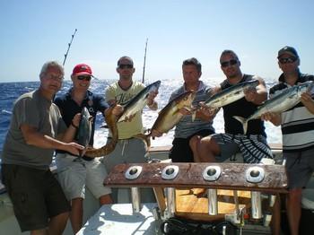 02/03 Satisfied Fishermen Cavalier & Blue Marlin Sport Fishing Gran Canaria
