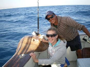 Roughtail Stingray Cavalier & Blue Marlin Sport Fishing Gran Canaria