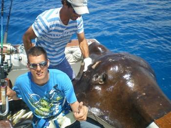 06/05 Common Stingray Cavalier & Blue Marlin Sport Fishing Gran Canaria