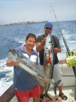23/05 2 Wahoo's Cavalier & Blue Marlin Sport Fishing Gran Canaria