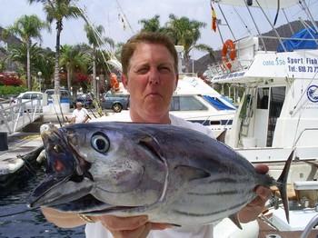 19/06 Skipjack Tuna Cavalier & Blue Marlin Sport Fishing Gran Canaria