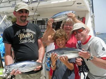 22/06 Satisfied Fishermen Cavalier & Blue Marlin Sport Fishing Gran Canaria