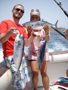 13/07 Satisfied Anglers Cavalier & Blue Marlin Sport Fishing Gran Canaria