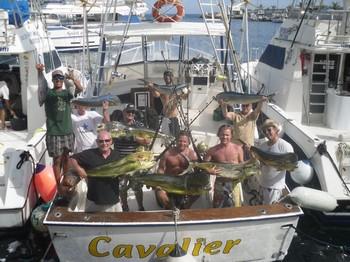 16/07 Dorado Explosion Cavalier & Blue Marlin Sport Fishing Gran Canaria