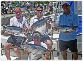 18/07 Skipjack Tunas Cavalier & Blue Marlin Sport Fishing Gran Canaria