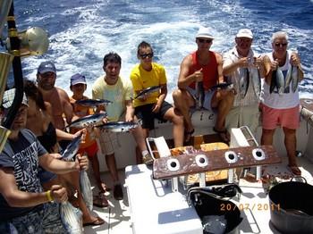 20/07 Satisfied Fishermen Cavalier & Blue Marlin Sport Fishing Gran Canaria