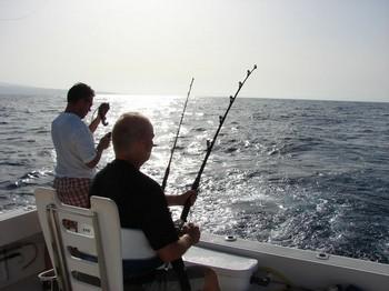 the chair Cavalier & Blue Marlin Sport Fishing Gran Canaria