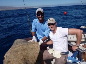 05/08 Butterfly ray Cavalier & Blue Marlin Sport Fishing Gran Canaria