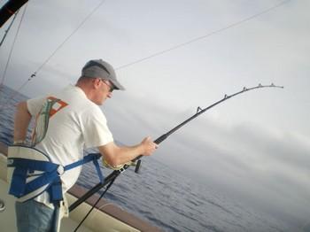 29/08 Hooked up Cavalier & Blue Marlin Sport Fishing Gran Canaria