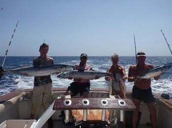19/09  Happy Guests Cavalier & Blue Marlin Sport Fishing Gran Canaria