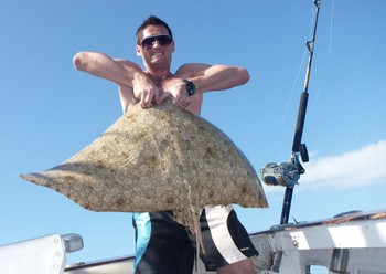 04/11 Butterfly ray Cavalier & Blue Marlin Sport Fishing Gran Canaria