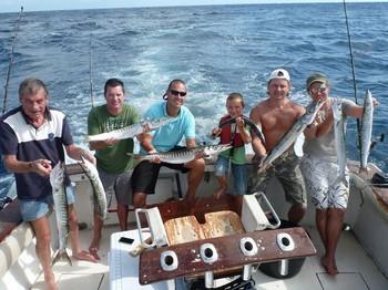 05/11 Barracuda Explosion. Cavalier & Blue Marlin Sport Fishing Gran Canaria