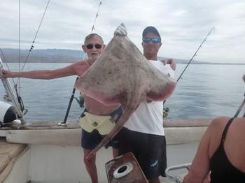 Bottle Nosed Skate Cavalier & Blue Marlin Sport Fishing Gran Canaria