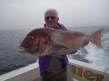 08/12 Pargo rojo Pesca Deportiva Cavalier & Blue Marlin Gran Canaria