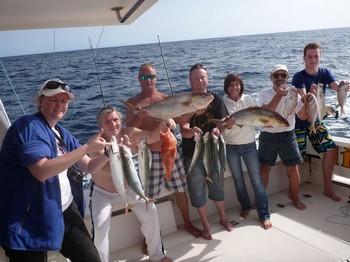 12/12 Pesca de arrecife Pesca Deportiva Cavalier & Blue Marlin Gran Canaria