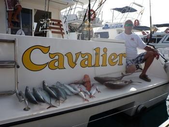 Buena pesca Pesca Deportiva Cavalier & Blue Marlin Gran Canaria
