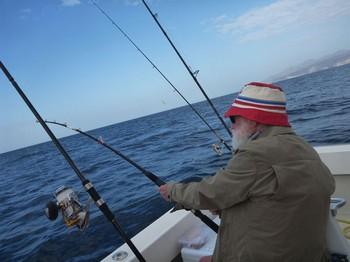 91 years old Cavalier & Blue Marlin Sport Fishing Gran Canaria