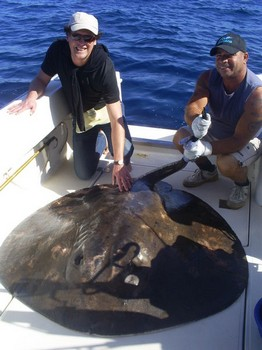 01/02 Round Stingray Cavalier & Blue Marlin Sport Fishing Gran Canaria