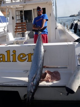 10/02 New Record Wahoo Cavalier & Blue Marlin Sport Fishing Gran Canaria