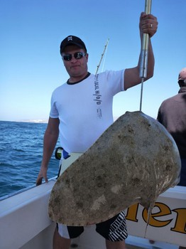 21/02 Butterfly ray Cavalier & Blue Marlin Sport Fishing Gran Canaria