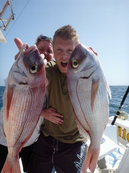 20/03 Red Snappers Cavalier & Blue Marlin Sport Fishing Gran Canaria
