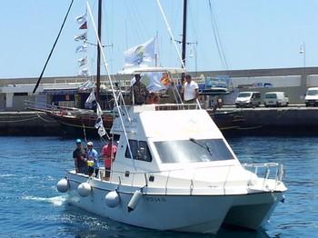 Flags Festival Cavalier & Blue Marlin Sport Fishing Gran Canaria