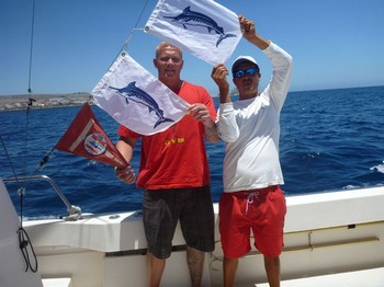 Well done ! Cavalier & Blue Marlin Sport Fishing Gran Canaria