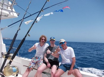 Satisfied Fishermen Cavalier & Blue Marlin Sport Fishing Gran Canaria