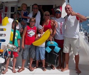 12/07 Frans Bauer Cavalier & Blue Marlin Sport Fishing Gran Canaria