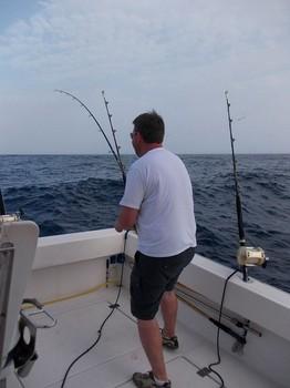 light tackle fishing Cavalier & Blue Marlin Sport Fishing Gran Canaria
