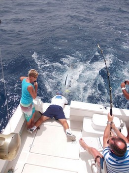 02/08 Release me Cavalier & Blue Marlin Sport Fishing Gran Canaria