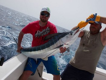 04/08 Well done Cavalier & Blue Marlin Sport Fishing Gran Canaria