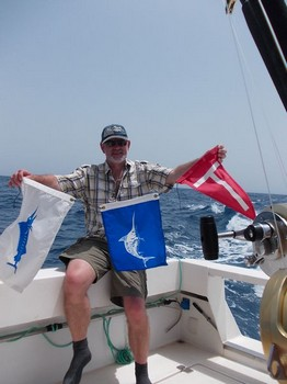 Blue and White Cavalier & Blue Marlin Sport Fishing Gran Canaria