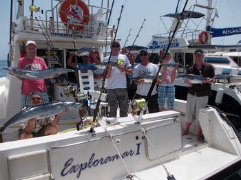 13/08 Well done Cavalier & Blue Marlin Sport Fishing Gran Canaria