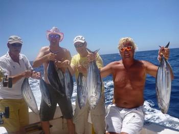 18/08 Skipjack Tuna's Cavalier & Blue Marlin Sport Fishing Gran Canaria