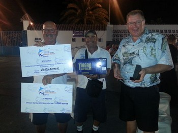 25/08 2nd Place Cavalier & Blue Marlin Sport Fishing Gran Canaria