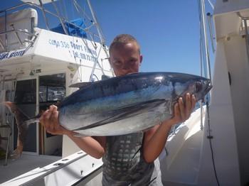 31/08 Albacore Cavalier & Blue Marlin Sport Fishing Gran Canaria