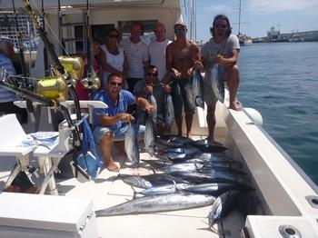 12/09 Great Day - Otro exitoso día de pesca en el Cavalier Pesca Deportiva Cavalier & Blue Marlin Gran Canaria