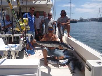 El ganador ! Pesca Deportiva Cavalier & Blue Marlin Gran Canaria