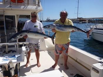 01/10   2 Wahoo Cavalier & Blue Marlin Sport Fishing Gran Canaria