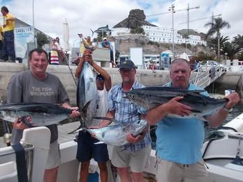 02/10 Albacores Cavalier & Blue Marlin Sport Fishing Gran Canaria