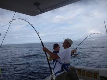 03/10 Double Strike Cavalier & Blue Marlin Sport Fishing Gran Canaria