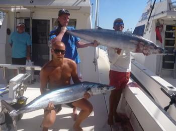 08/10 2 Wahoo's Cavalier & Blue Marlin Sport Fishing Gran Canaria