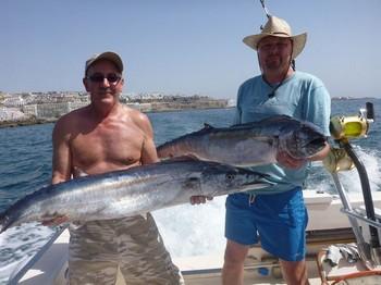 10/10 2 Wahoo's Cavalier & Blue Marlin Sport Fishing Gran Canaria