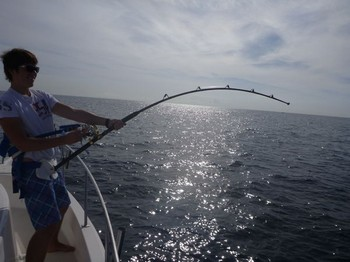 26/10 Hooked Up Cavalier & Blue Marlin Sport Fishing Gran Canaria