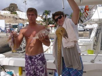 Moray Eel Cavalier & Blue Marlin Sport Fishing Gran Canaria