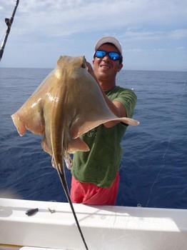 12/11 Eagle ray Cavalier & Blue Marlin Sport Fishing Gran Canaria