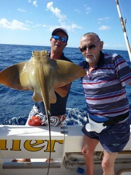 14/11 Eagle ray Cavalier & Blue Marlin Sport Fishing Gran Canaria